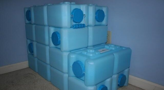 how to store water long term